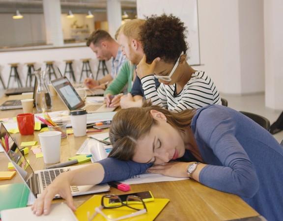 l'effet du manque de sommeil au travail